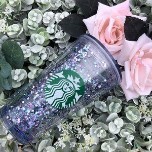 Custom snow globe acrylic Starbucks cup